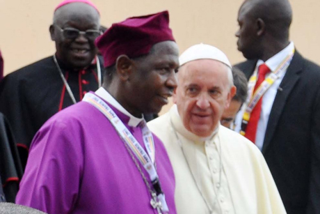pope Anglican uganda