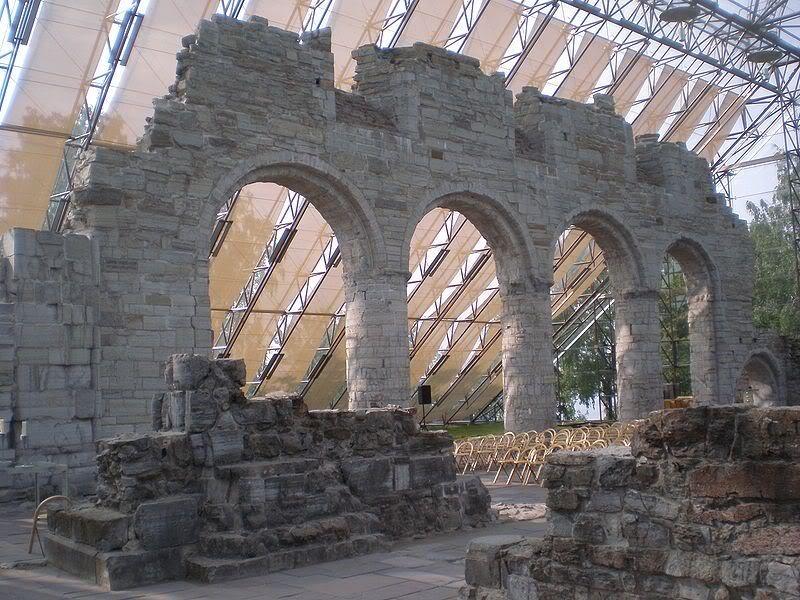 hamar cathedral ruins
